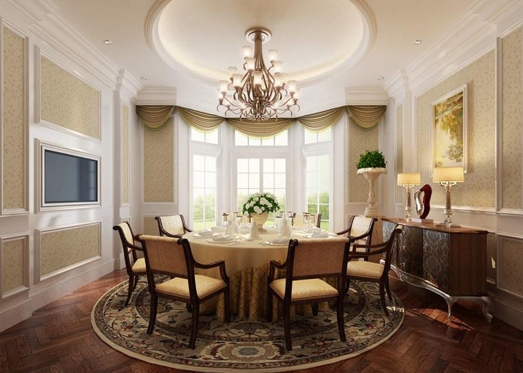 sala da pranzo classica francese interior design meraviglioso