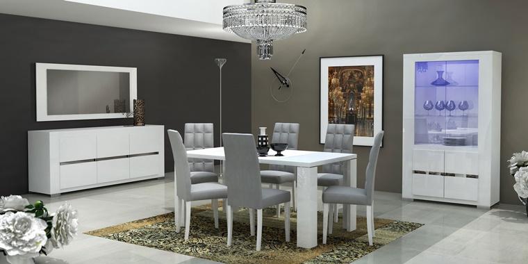 Sala da pranzo moderna idee d 39 arredamento per la zona living - Mobili sala da pranzo ...