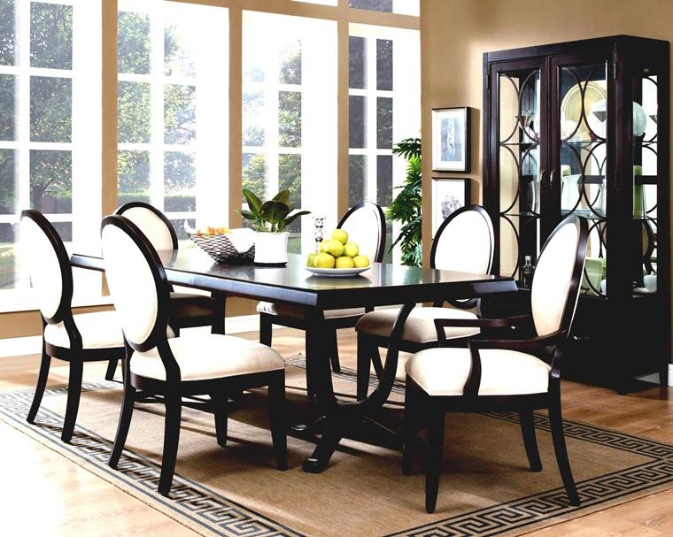 sala da pranzo moderna stile formale