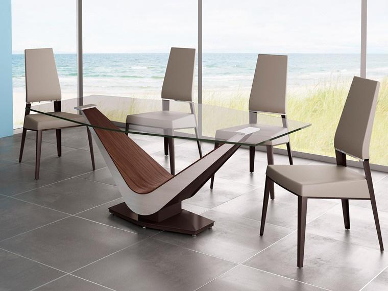 Tavoli per sala da pranzo in cristallo | Relatex