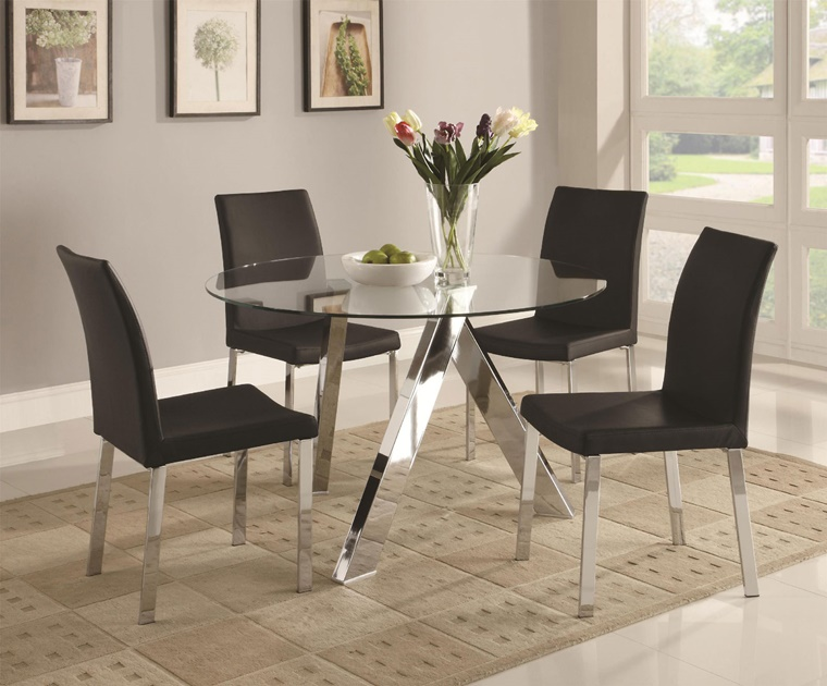 Sala da pranzo moderna - idee d\'arredamento per la zona living ...