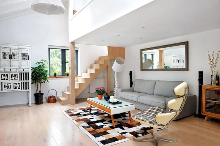 Salotti moderni in stile minimal idee nuove di tendenza for Divano minimal