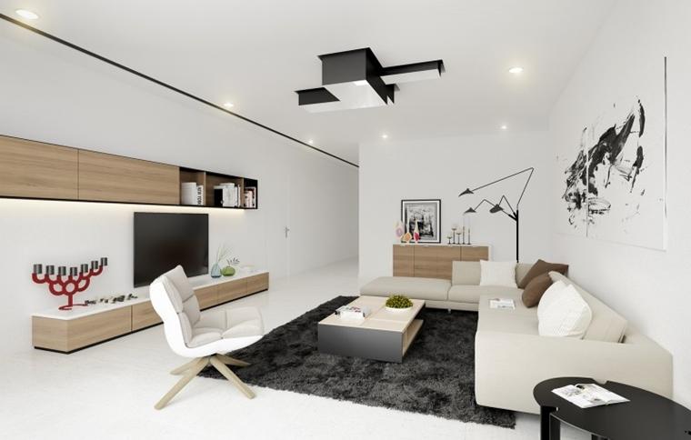 Salotto In Stile Moderno Con Parquet Interior Design : Salotto moderno immagini e idee splendide da scoprire
