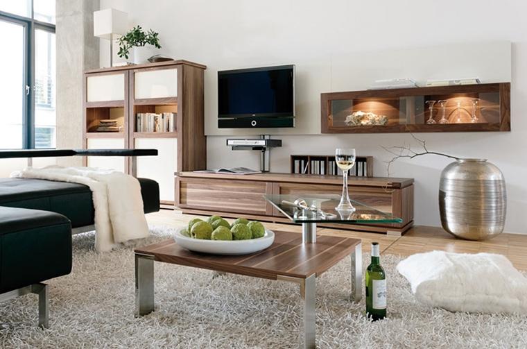 salotto moderno tavolino basso design contemporaneo