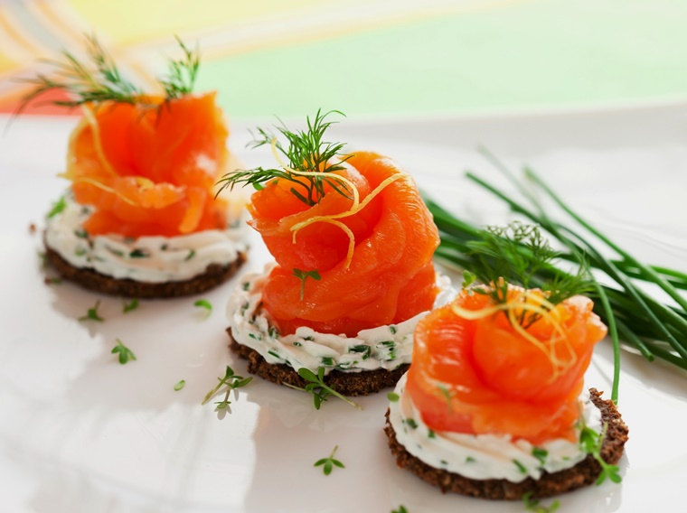 salse per crostini salmone affimicato