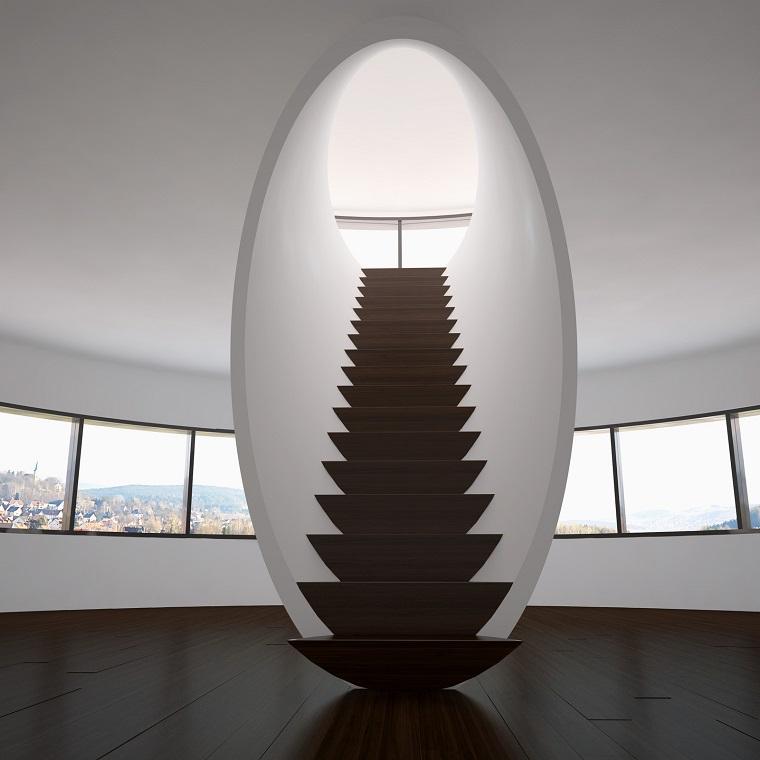 scale moderne design ambienti avanguardia