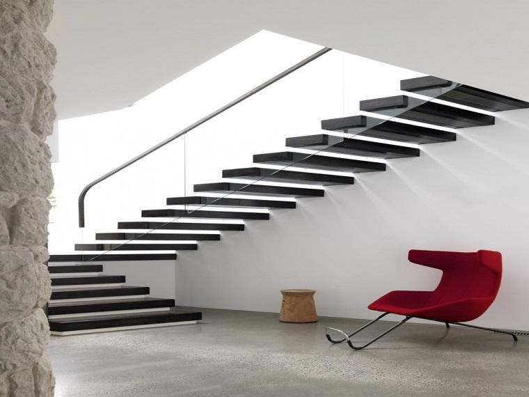 scale moderne per interni tendenza