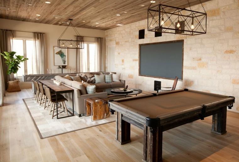 Plafoniere Per Travi In Legno : Illuminazione tetto in legno idee innovative e di stile
