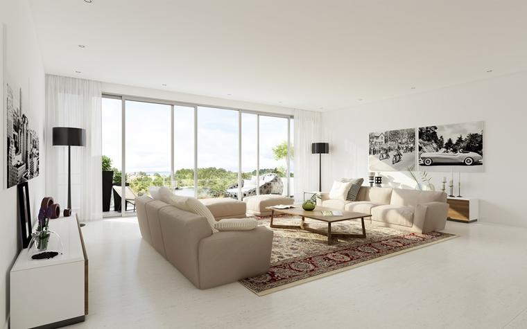 Salotto moderno immagini e idee splendide da scoprire for Quadri salotto