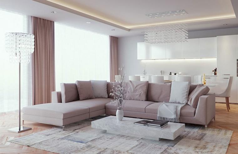 soggiorno idea arredamento living aperto