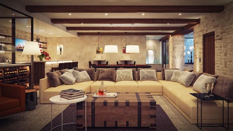 Arredare casa consigli e idee fai da te for Arredare casa con travi a vista