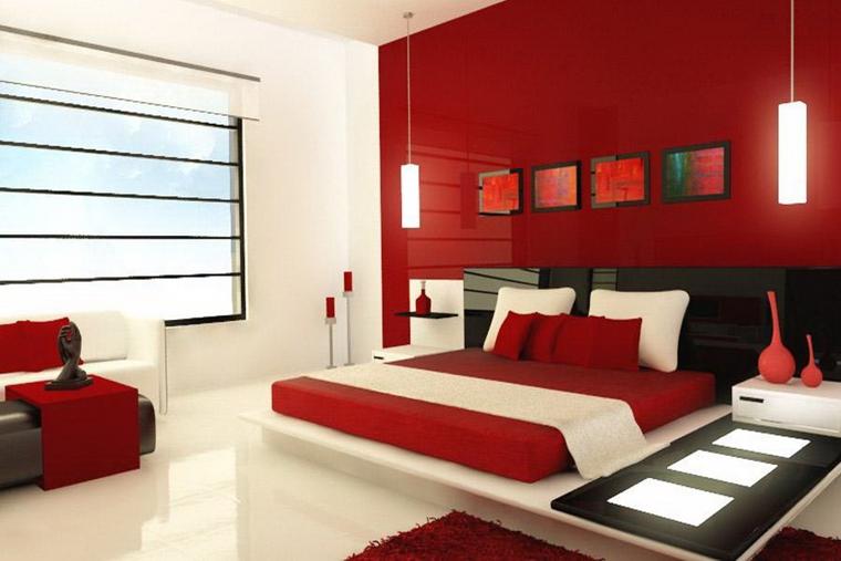 Camere Da Letto Rosse E Bianche : Arredare camera da letto piccola idee salvaspazio