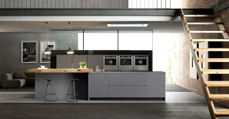 Cucine moderne bianche e nere - 10 idee in piu\' per arredare ...
