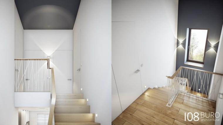 Scaletta In Legno Per Bagno : Stile moderno di buro idee per la casa di legno