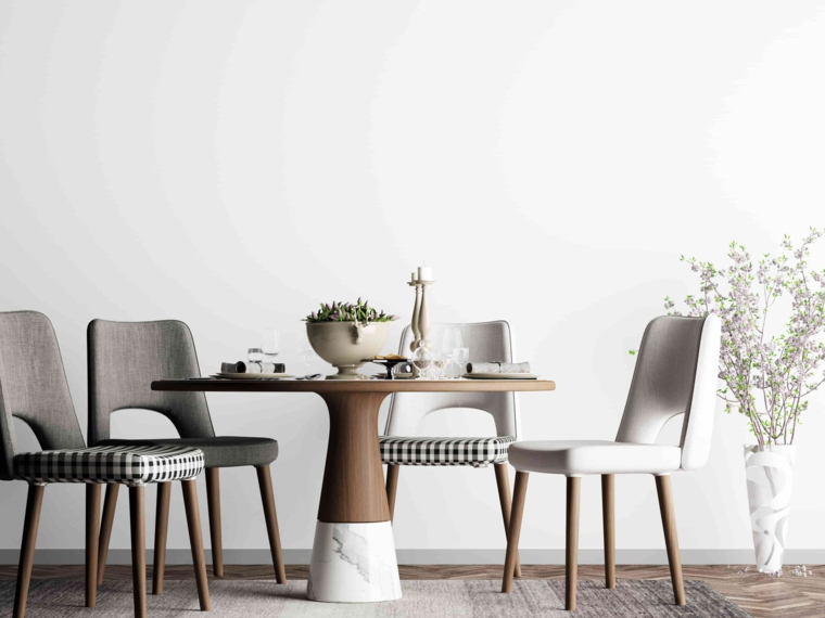 tavolo da pranzo in stile scandinavo come arredare una sala da pranzo