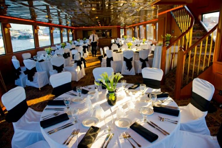 tavolo decorato particolare elegante matrimonio
