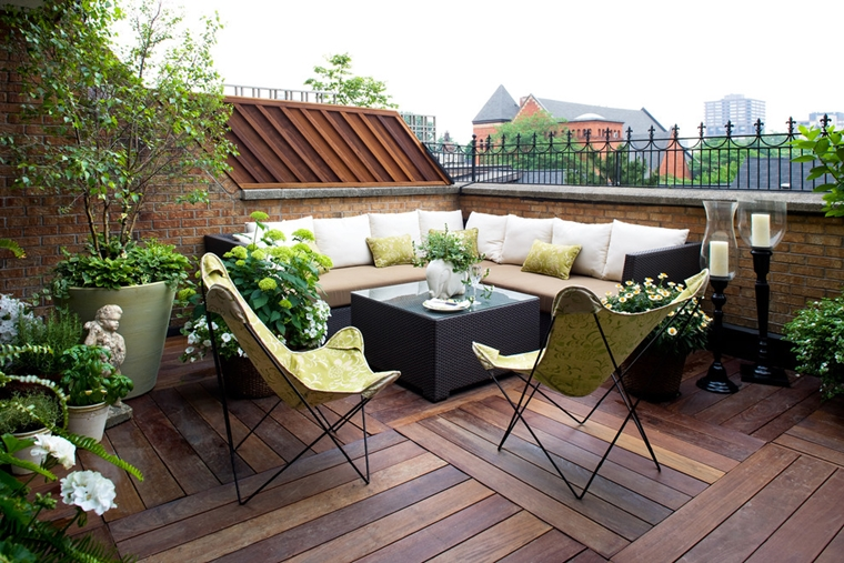 Awesome terrazzi arredati e fioriti photos design and ideas
