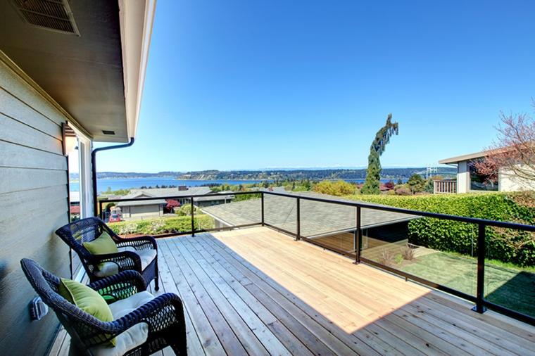 Terrazzi moderni complementi d 39 arredo e consigli pratici for Terrazzo legno