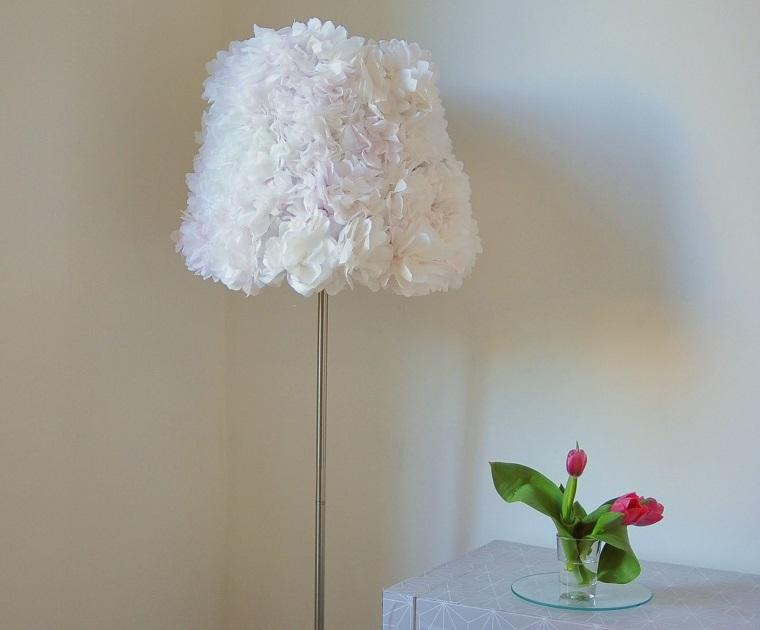 Lampade tante idee fai da te per illuminare la casa - Cappelli per lampade da tavolo ...