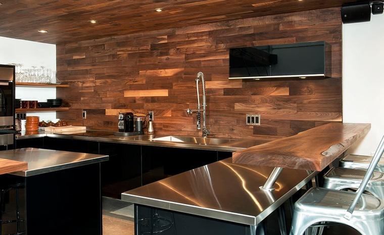 Paraspruzzi cucina tante idee utili per l 39 arredamento - Paraschizzi cucina ...