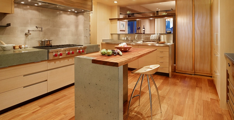 Top per cucine - alcune idee originali per i piani da cucina ...
