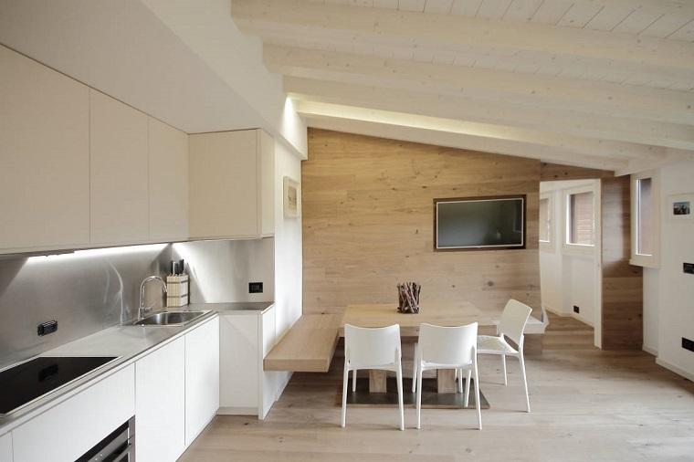 travi di legno classiche semplici