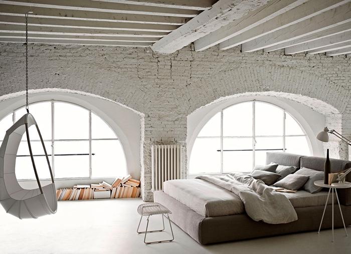 Legno Naturale Bianco : Travi in legno bianche esempi spettacolari e moderni