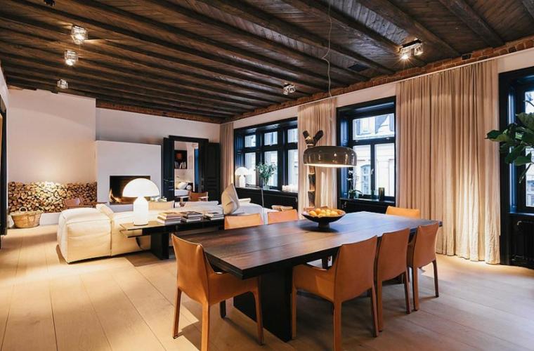 Illuminazione tetto in legno idee innovative e di stile