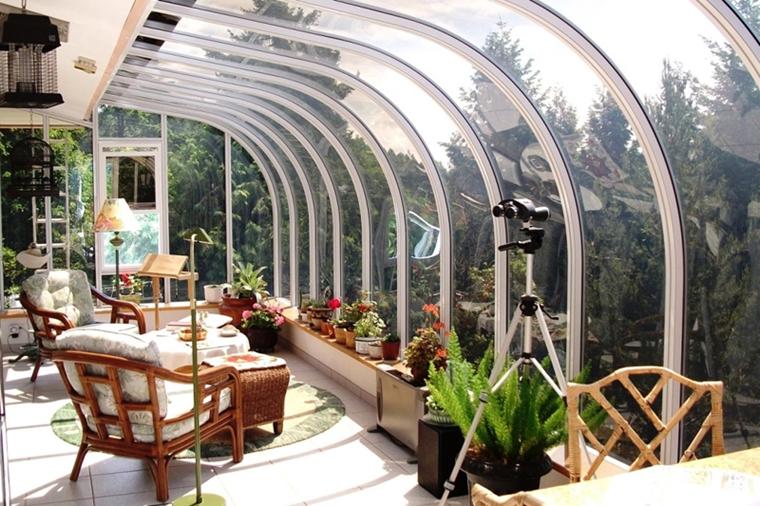 veranda mobili rattan lampada stelo
