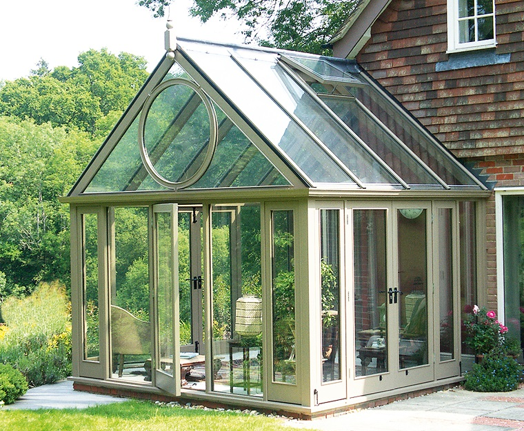 verande esterne esempio pareti soffitto vetro