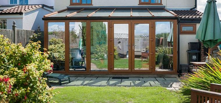 verande esterne porte finestre legno
