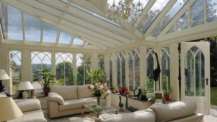 verande moderne finestre stile gotico