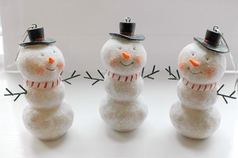 addobbi di natale pupazzo neve