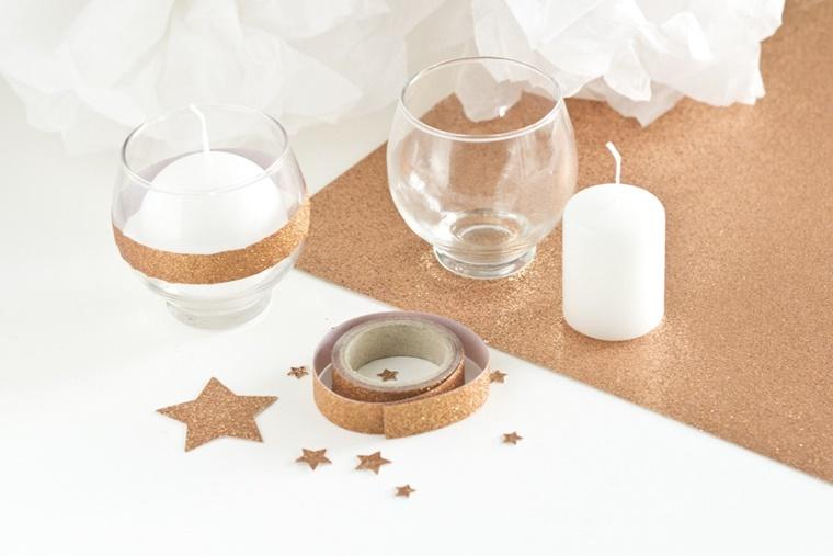 Addobbi natalizi tante decorazioni dai toni metallici for Addobbi natalizi fai da te 2016