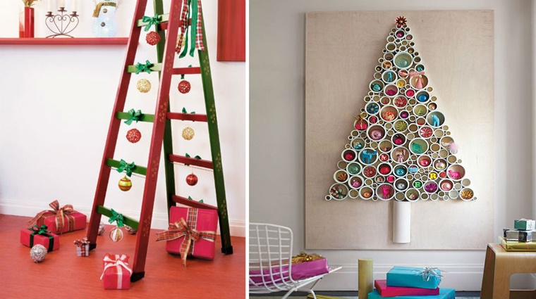 addobbi natalizi fai da te albero natale