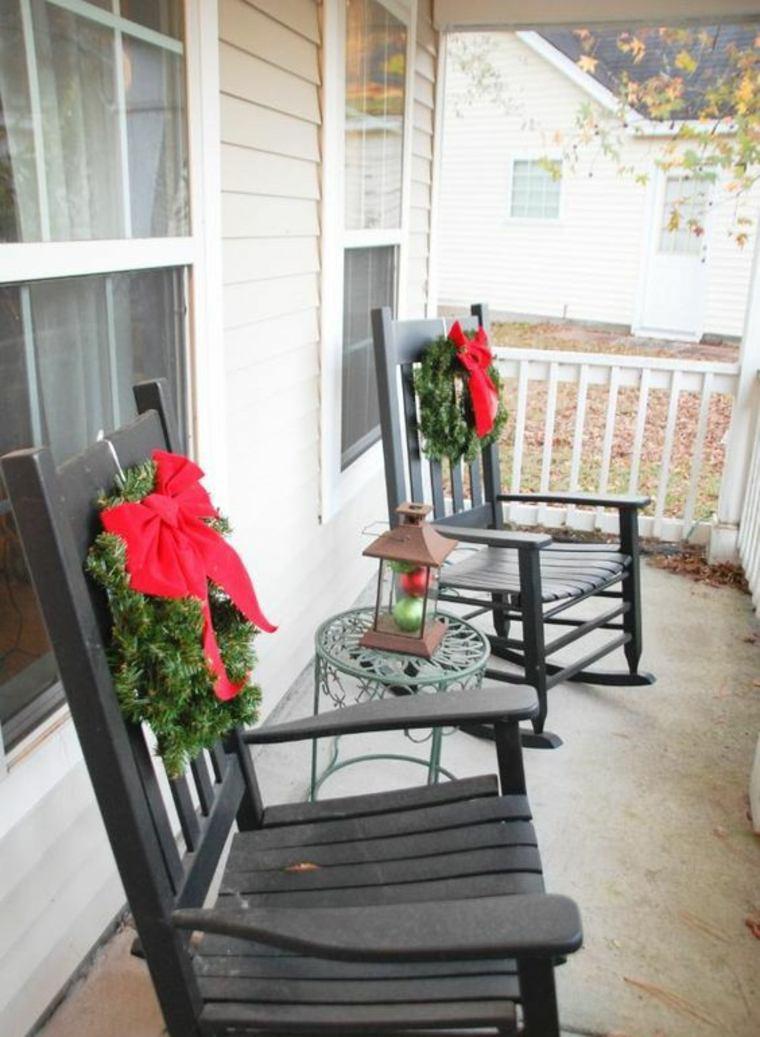addobbi natalizi per balconi ghirlande abete fiocchi