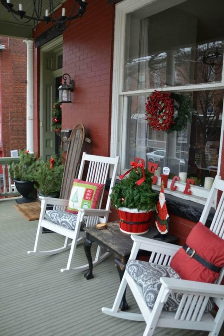 addobbi natalizi per balconi ghirlande bacche