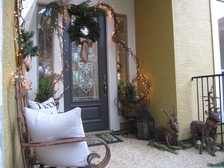Addobbi natalizi per balconi ed esterni idee favolose da - Addobbi natalizi da giardino ...