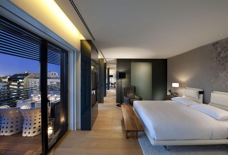 albergo moderno design contemporaneo paesaggio originale