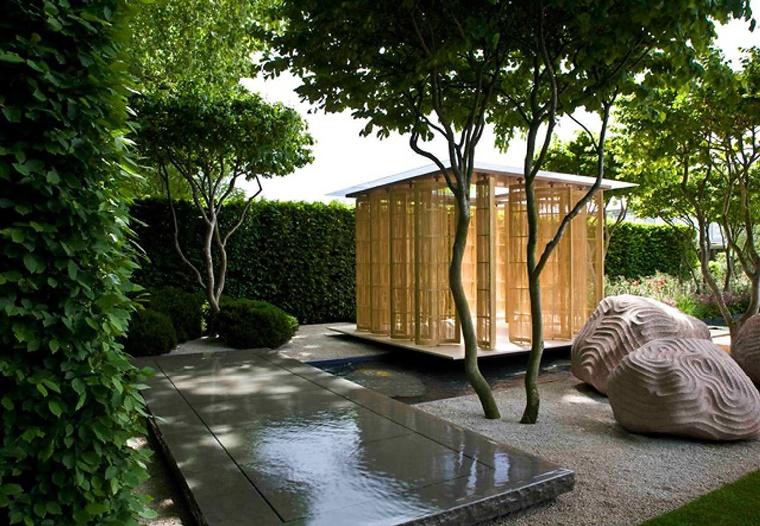alberi da giardino arredo zen