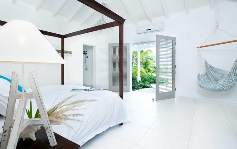 amaca poltrona camera letto stile minimal