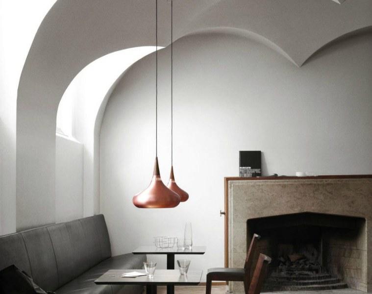 architettura d'interni stile sobrio elegante originale