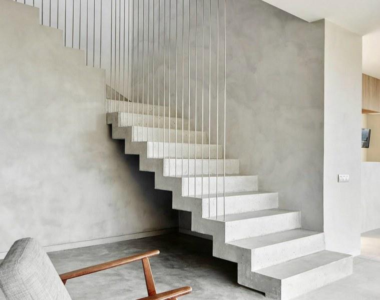 architettura interna design sobrio elegante