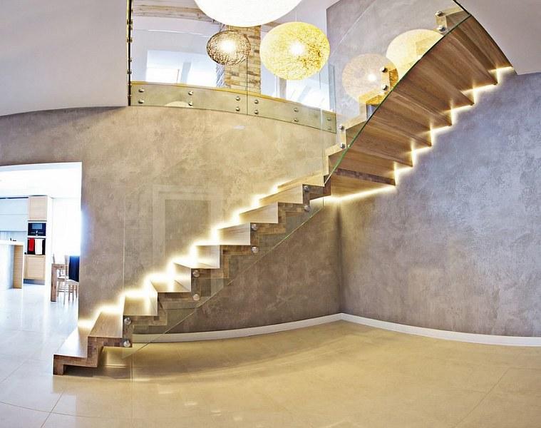 architettura particolare interna stile contemporaneo moderno