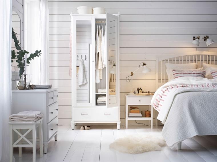 arredamento camera da letto stile vintage