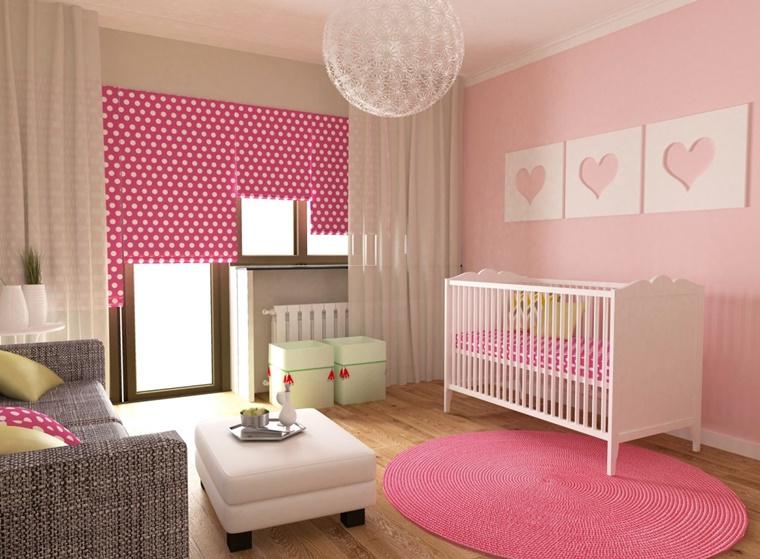 Camerette Per Neonati Rosa : Arredamento camerette idee creative per il nido dei bambini