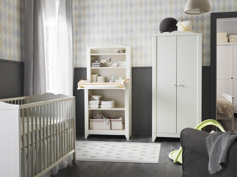 Arredare Cameretta Bebè : Arredamento camerette: idee creative per il nido dei bambini