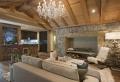 Rivestimenti in pietra in un soggiorno moderno – idee di design e stile