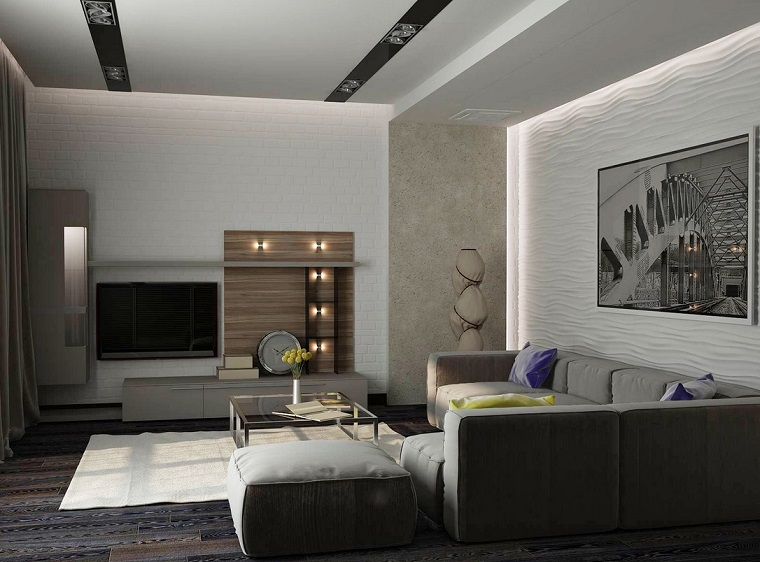 arredamento salotto moderno piccole dimensioni
