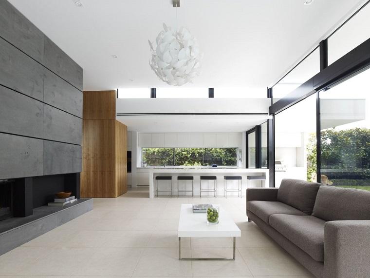 arredamento salotto moderno set minimalista